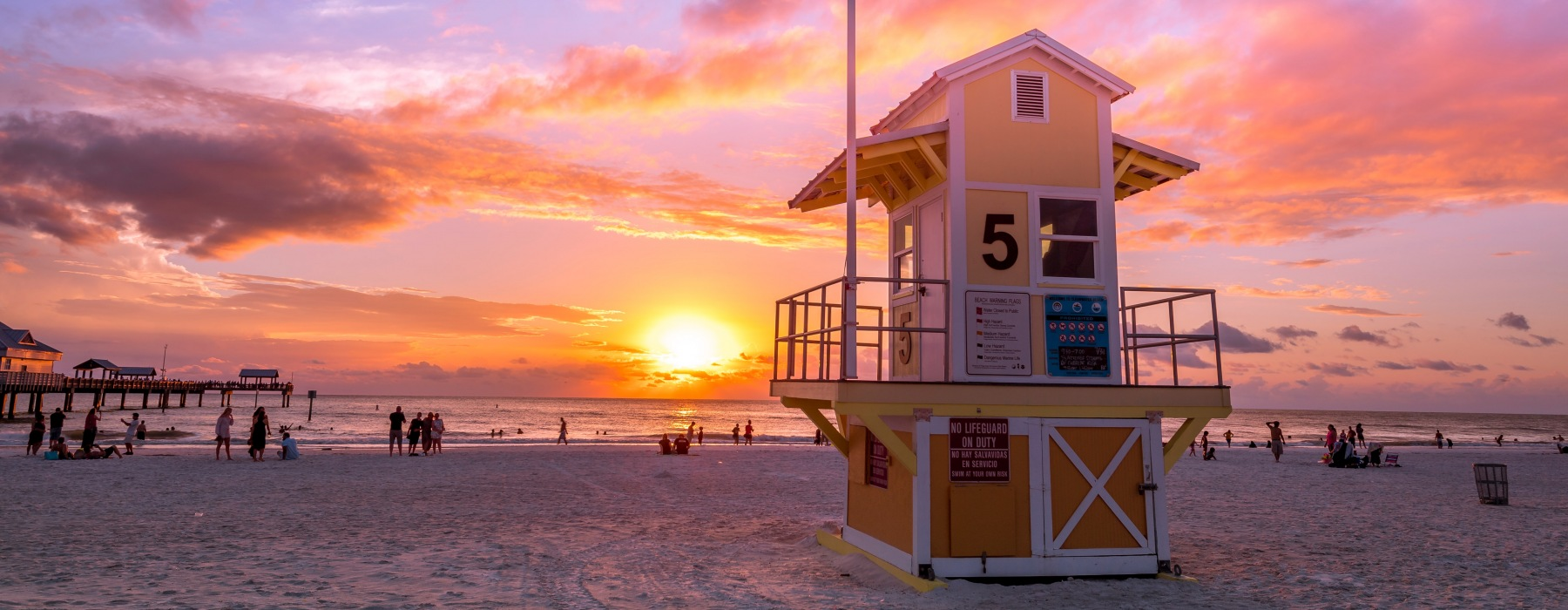 Lifeguard Station on Clearwater Beach